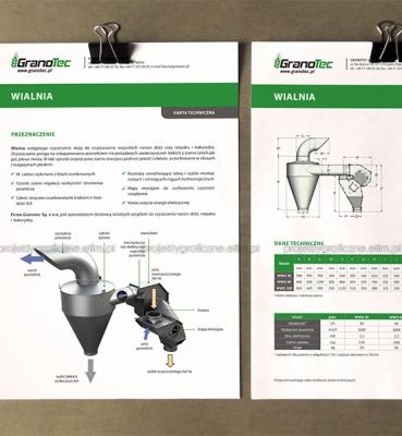 Granotec – karta produktu