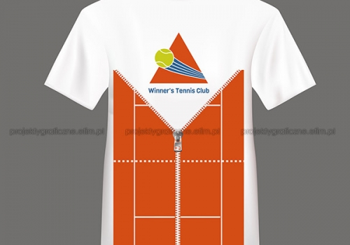 Winner's Tennis Club – koszulka
